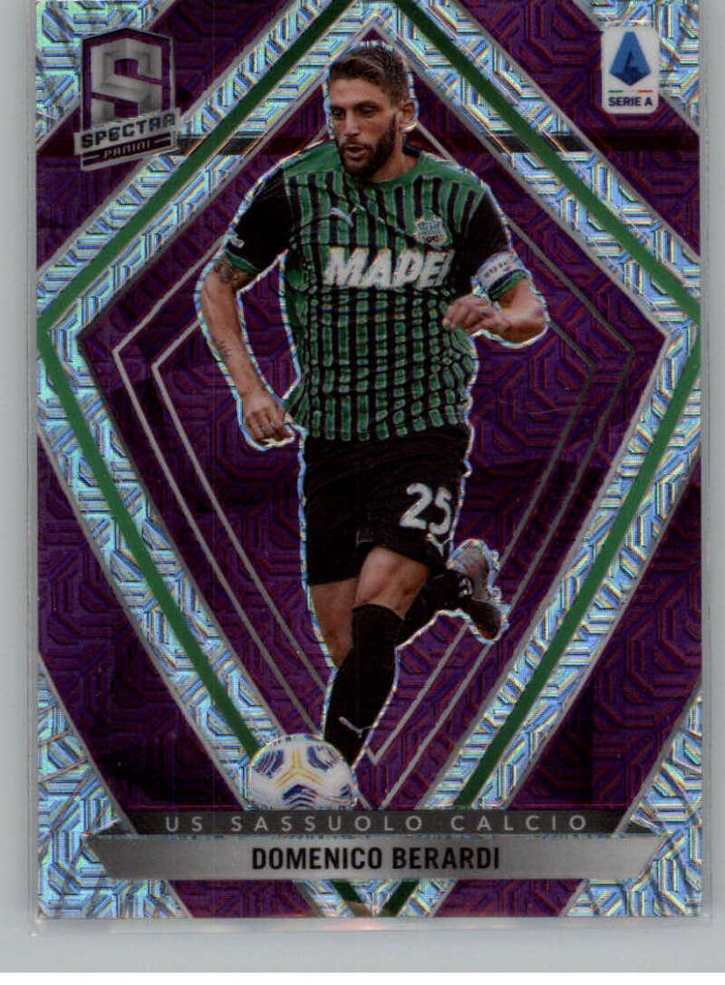 2020-21 Panini Chronicles Spectra Serie A Purple Mojo
