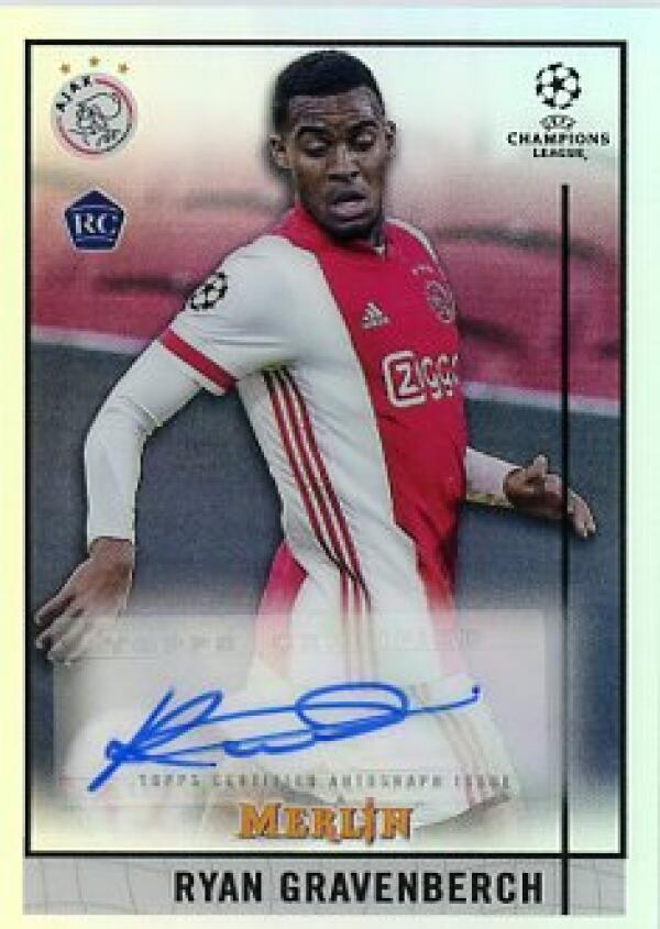 2020-21 Topps Merlin Chrome UEFA Autographs Refractor