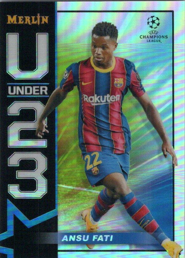2020-21 Topps Merlin Chrome UEFA U23 Stars Refractor