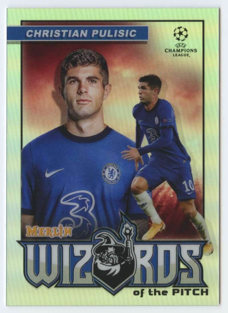 2020-21 Topps Merlin Chrome UEFA Wizards of the Pitch Refractor