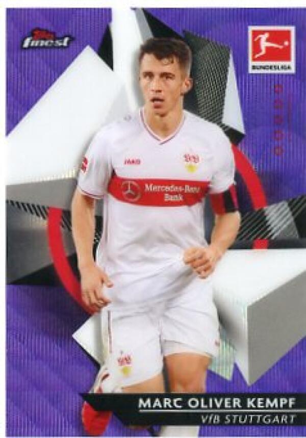 2020-21 Topps Finest Bundesliga Refractor Purple Wave