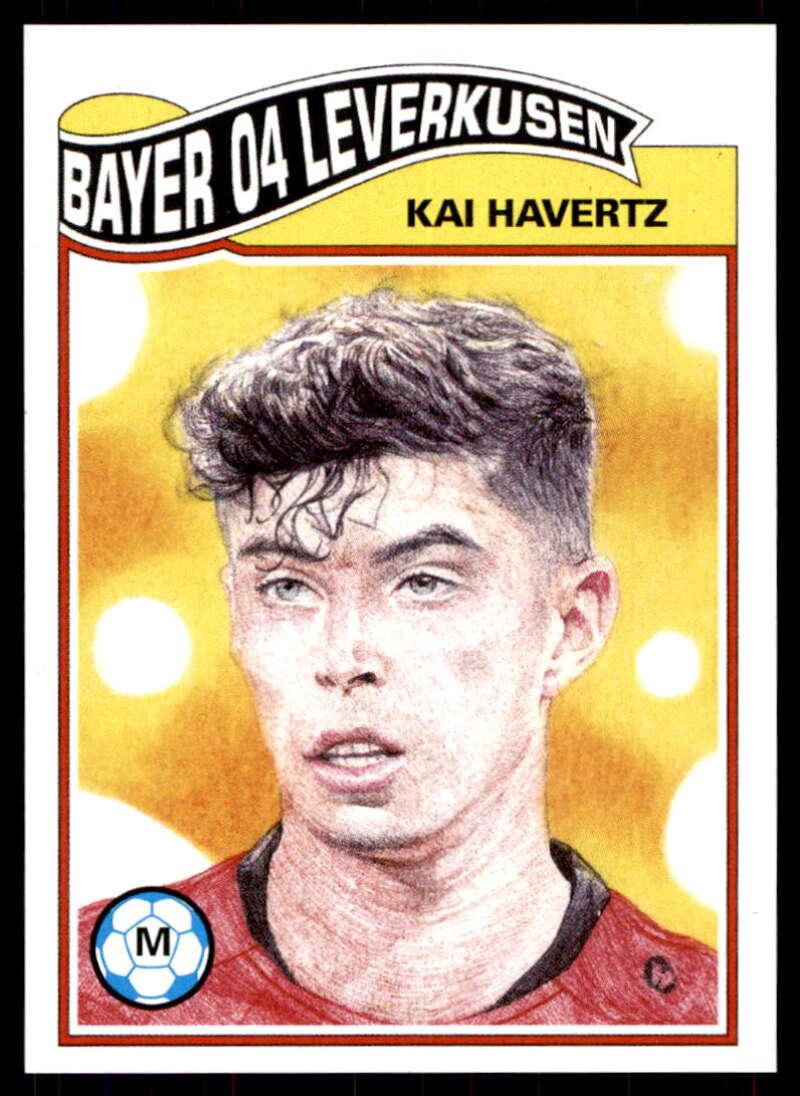 2020 Topps The UCL Living Set UEFA Champions League #184 Kai Havertz Bayer 04 Leverkusen  Official Soccer Futbol Trading Card LIMITED PRINT RUN