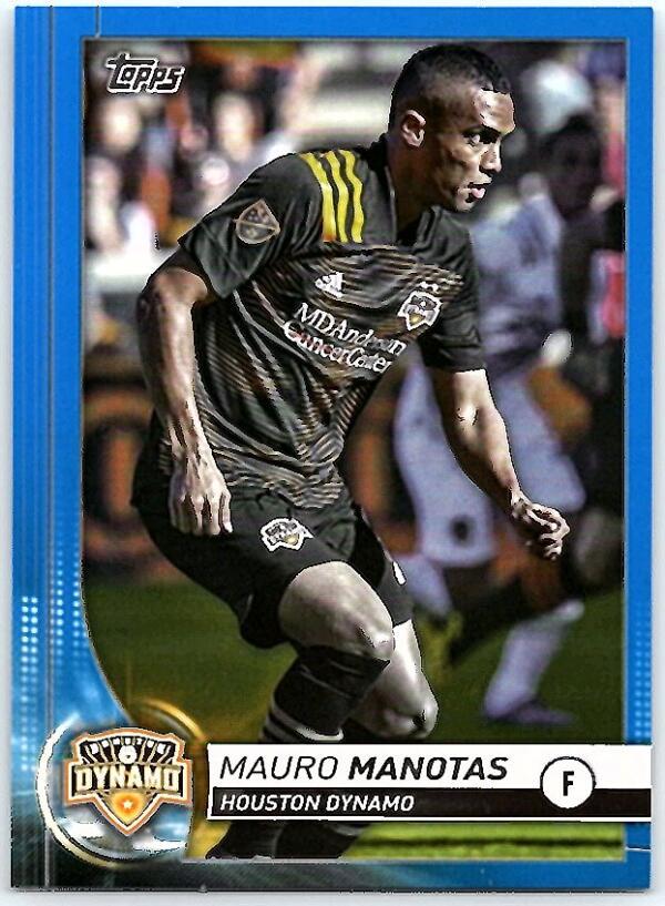 2020 Topps MLS Blue