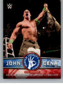 2017 Topps Then Now Forever John Cena Tribute #36 John Cena Wins the WWE World Heavyweight Championship in a Ladder Match NM-MT