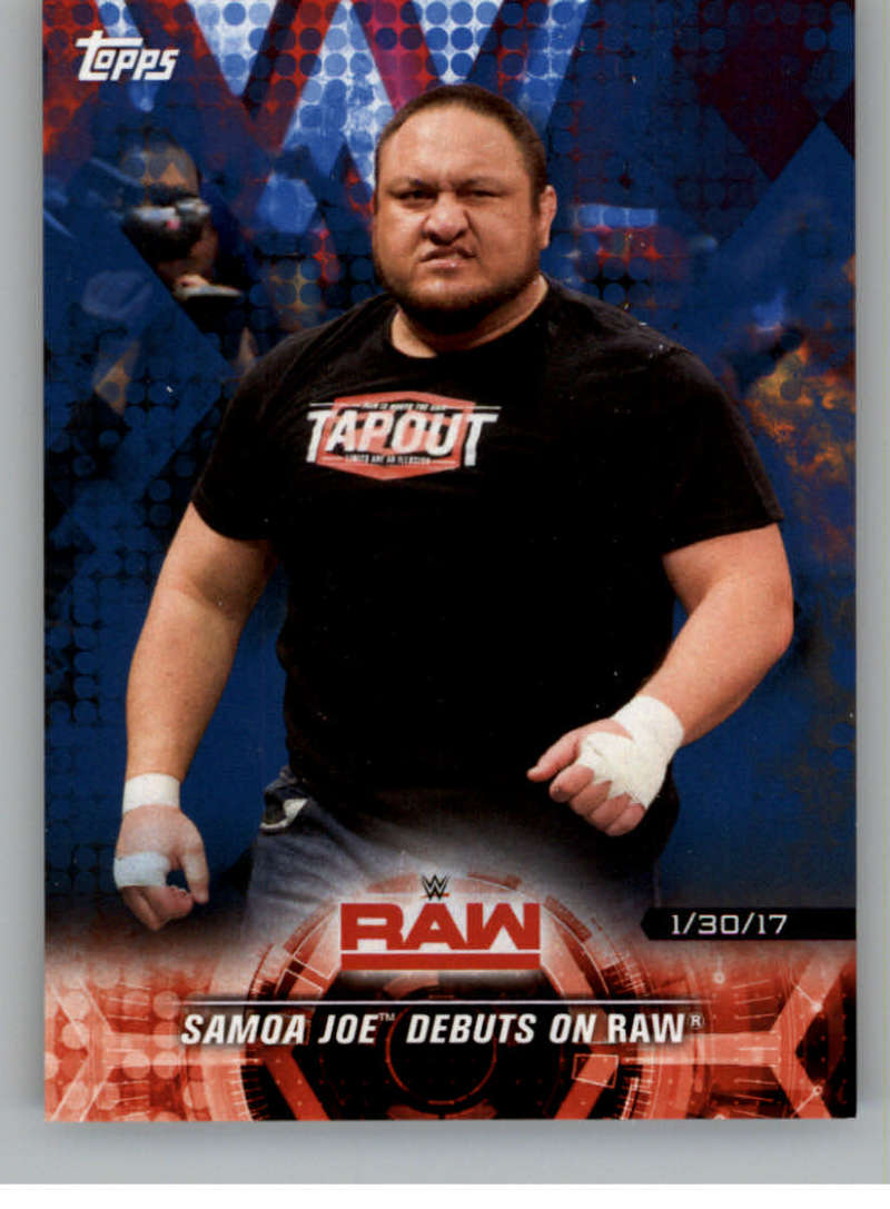 2018 Topps Road to WrestleMania Blue