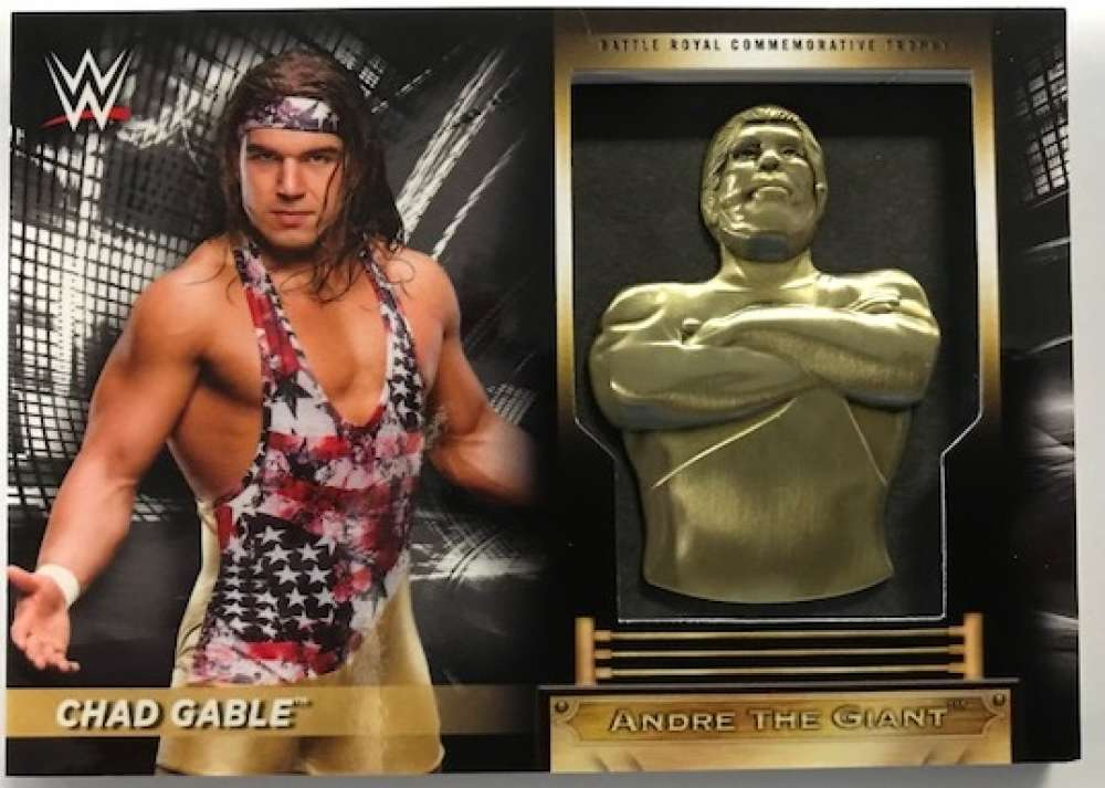 2018 Topps Road to WrestleMania Andre the Giant Battle Royal Commemorative Trophy Relics