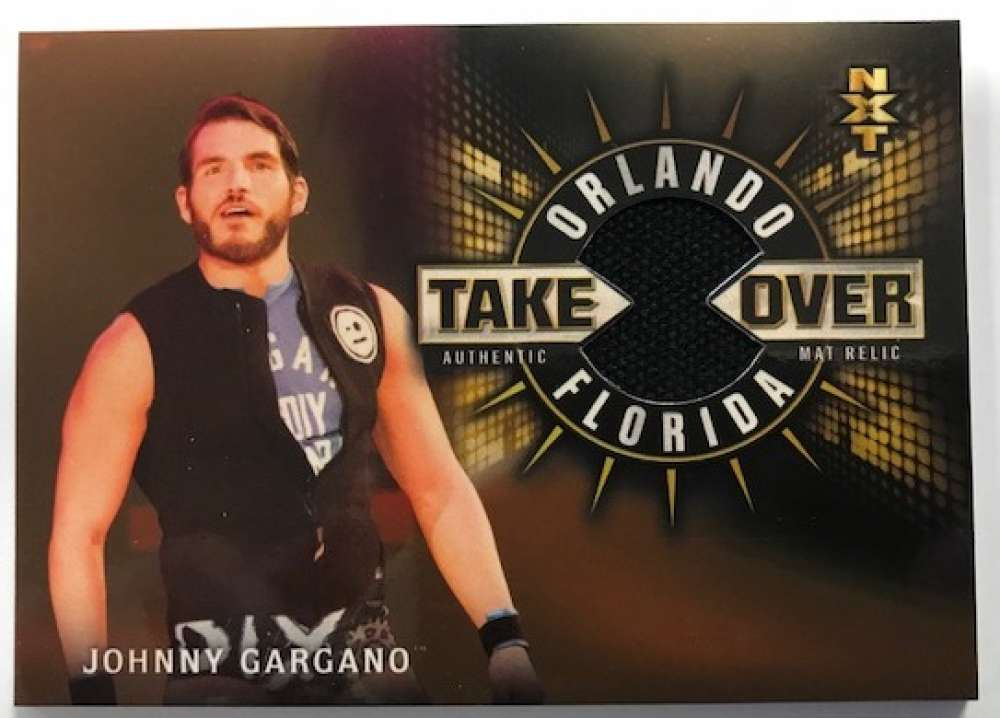 2018 Topps Road to WrestleMania NXT TakeOver Orlando Mat Relics Bronze