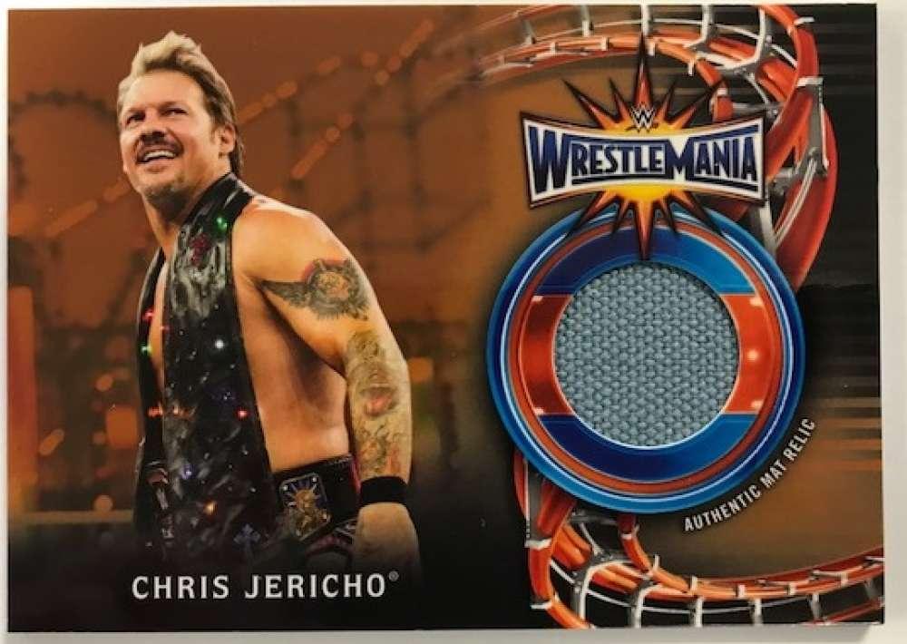 2018 Topps Road to WrestleMania WrestleMania 33 Mat Relics Bronze
