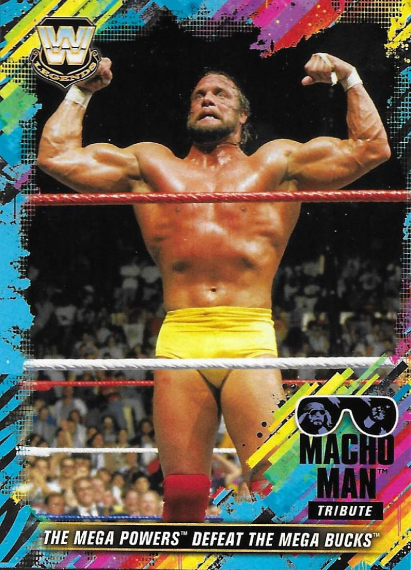 2018 Topps Road to WrestleMania Macho Man Tribute