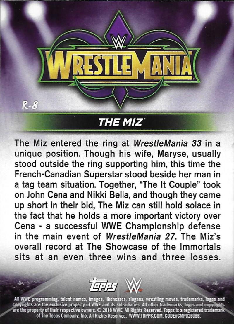 2018-Topps-WWE-Road-WrestleMania-Roster-Card-Singles-You-Pick-Complete-Your-Set thumbnail 8
