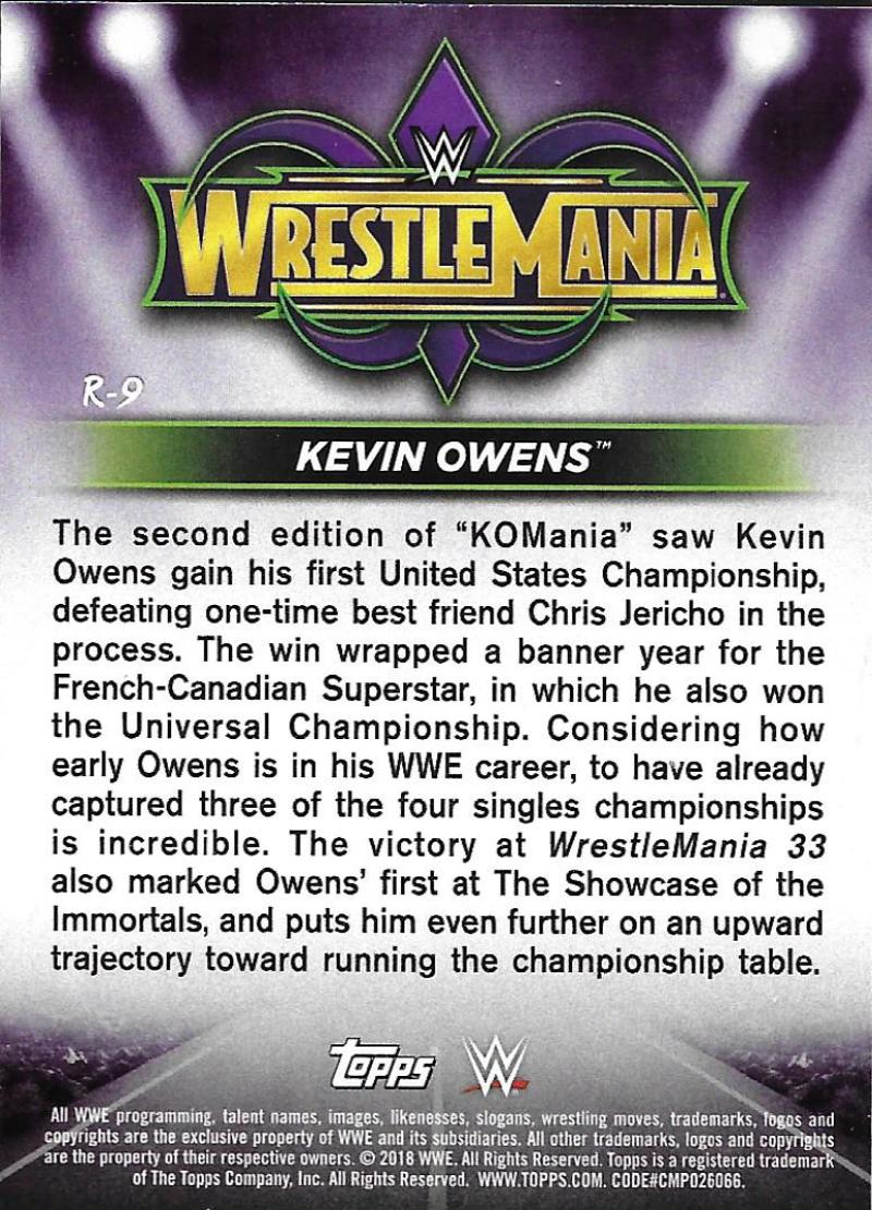 2018-Topps-WWE-Road-WrestleMania-Roster-Card-Singles-You-Pick-Complete-Your-Set thumbnail 10