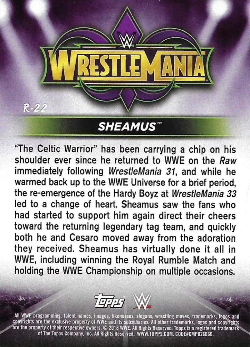 2018-Topps-WWE-Road-WrestleMania-Roster-Card-Singles-You-Pick-Complete-Your-Set thumbnail 27
