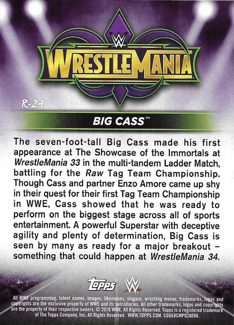2018-Topps-WWE-Road-WrestleMania-Roster-Card-Singles-You-Pick-Complete-Your-Set thumbnail 29