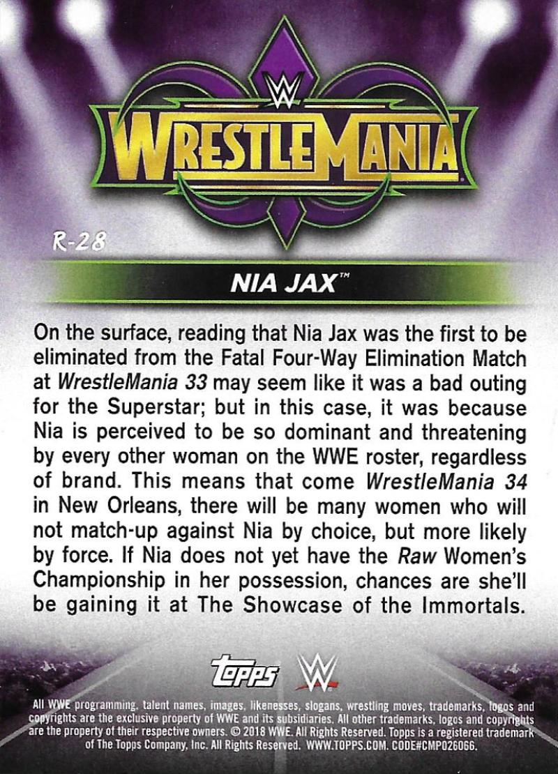 2018-Topps-WWE-Road-WrestleMania-Roster-Card-Singles-You-Pick-Complete-Your-Set thumbnail 33