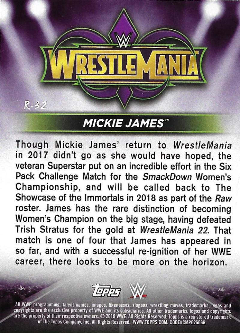 2018-Topps-WWE-Road-WrestleMania-Roster-Card-Singles-You-Pick-Complete-Your-Set thumbnail 37