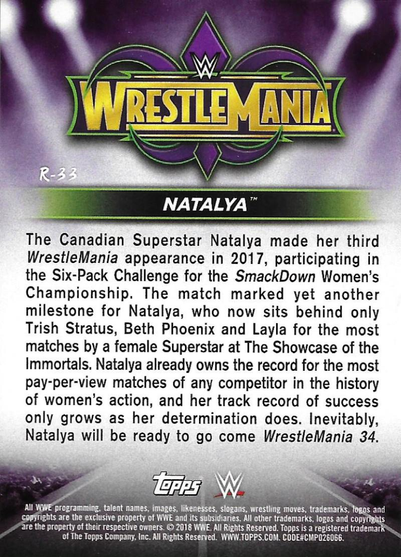 2018-Topps-WWE-Road-WrestleMania-Roster-Card-Singles-You-Pick-Complete-Your-Set thumbnail 39