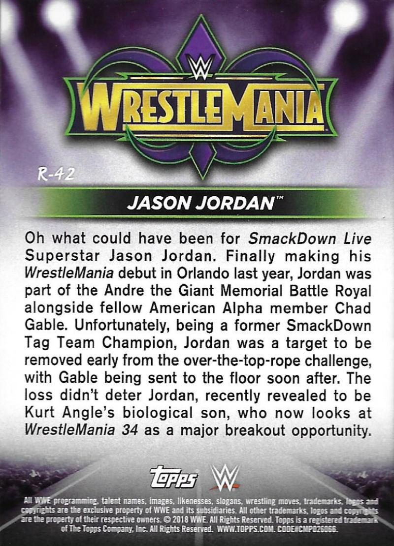 2018-Topps-WWE-Road-WrestleMania-Roster-Card-Singles-You-Pick-Complete-Your-Set thumbnail 52