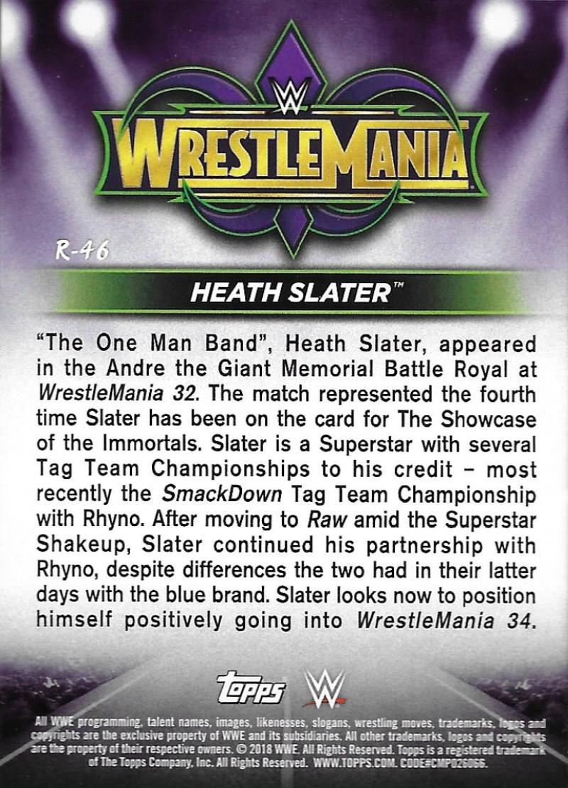 2018-Topps-WWE-Road-WrestleMania-Roster-Card-Singles-You-Pick-Complete-Your-Set thumbnail 59