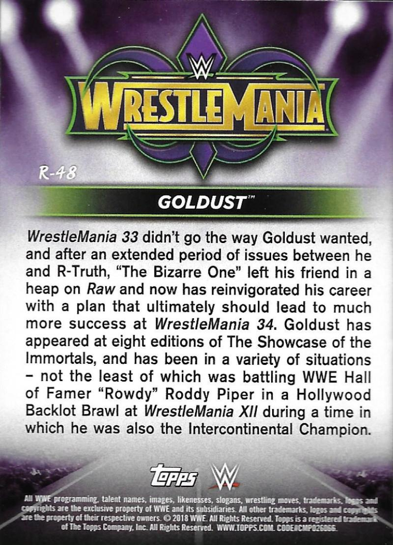 2018-Topps-WWE-Road-WrestleMania-Roster-Card-Singles-You-Pick-Complete-Your-Set thumbnail 63