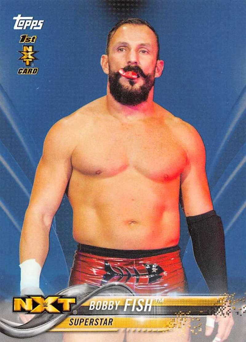 2018 Topps WWE Blue
