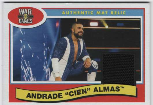 2018 Topps Heritage NXT TakeOver: War Games 2017 Mat Relics