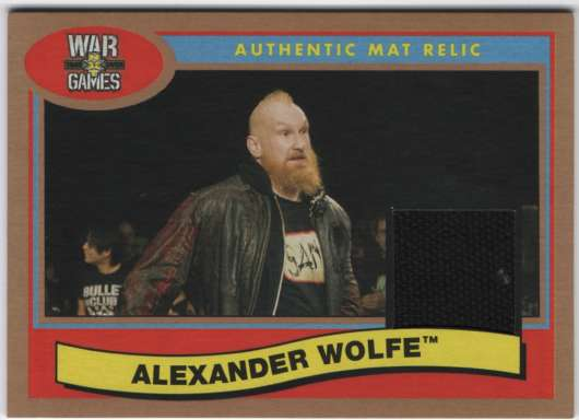 2018 Topps Heritage NXT TakeOver: War Games 2017 Mat Relics Bronze
