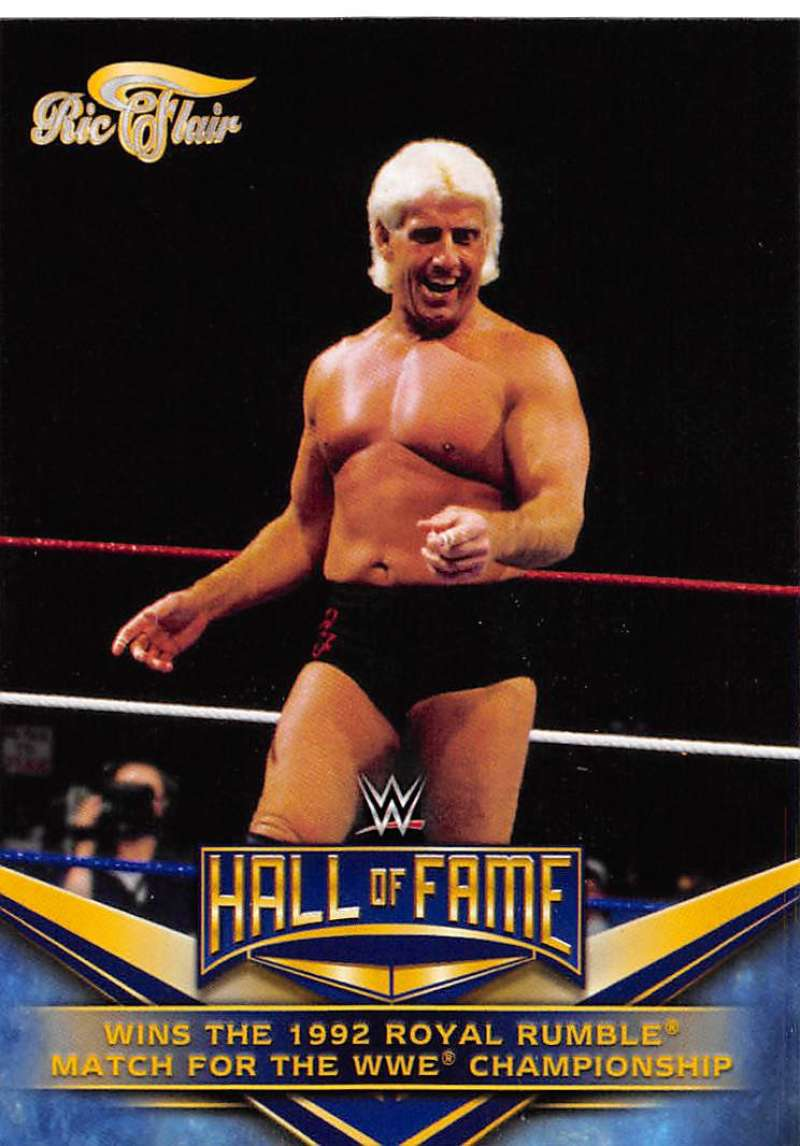 2018 Topps Heritage Ric Flair Hall of Fame Tribute Part 3