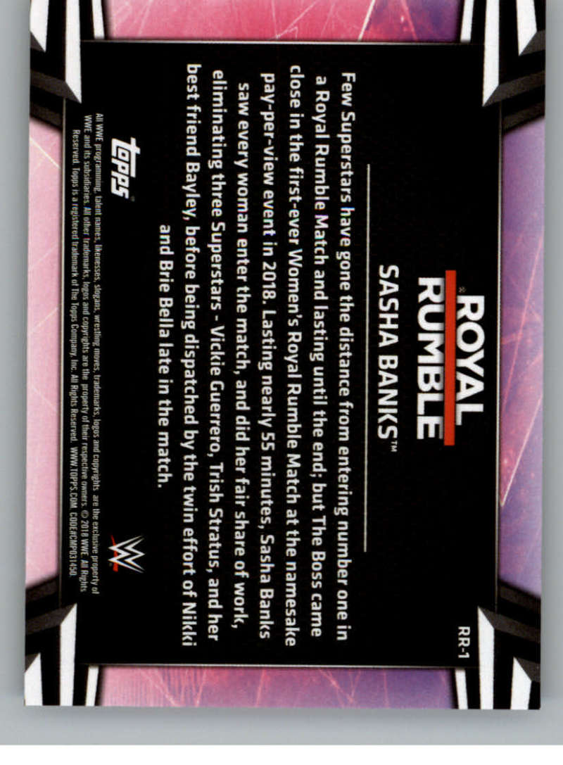 2018-Topps-WWE-Women-039-s-Division-Evolution-Royal-Rumble-Pick-A-Card thumbnail 3