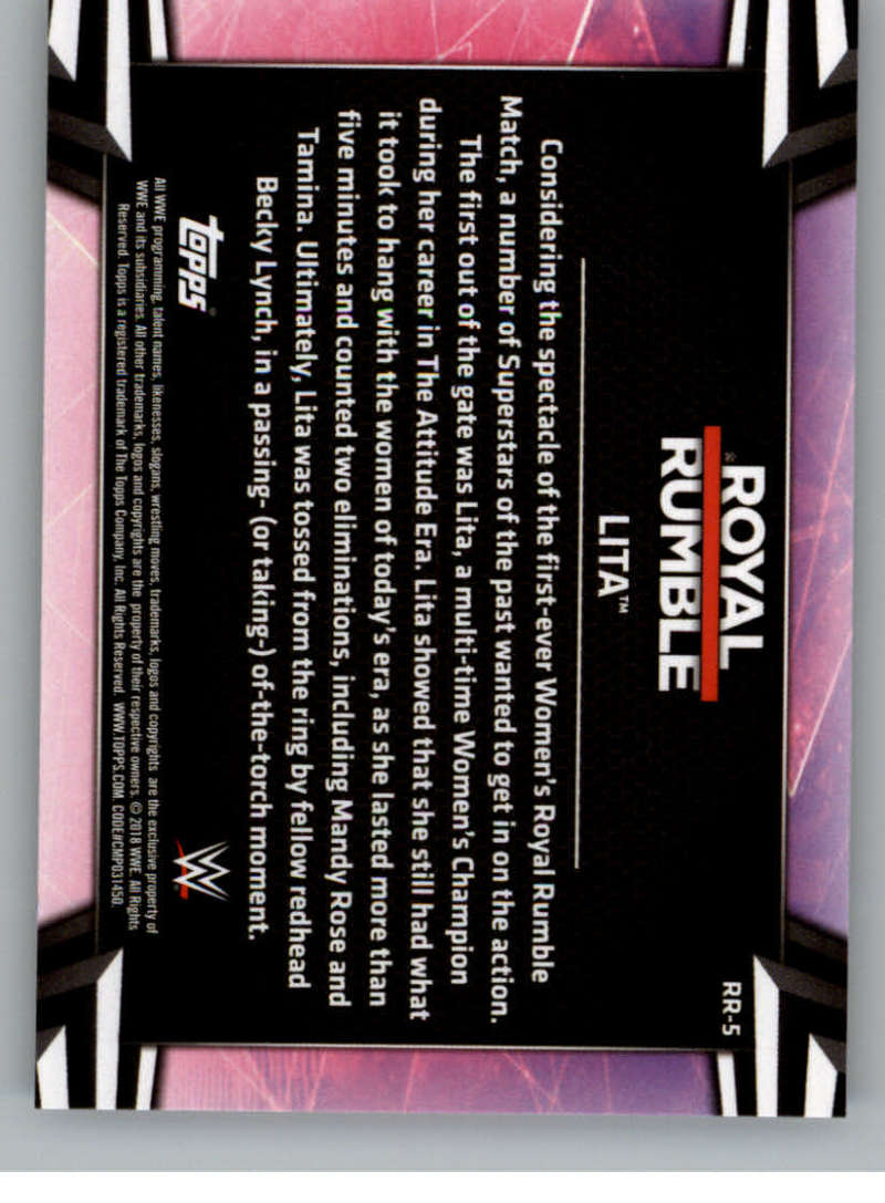 2018-Topps-WWE-Women-039-s-Division-Evolution-Royal-Rumble-Pick-A-Card thumbnail 11
