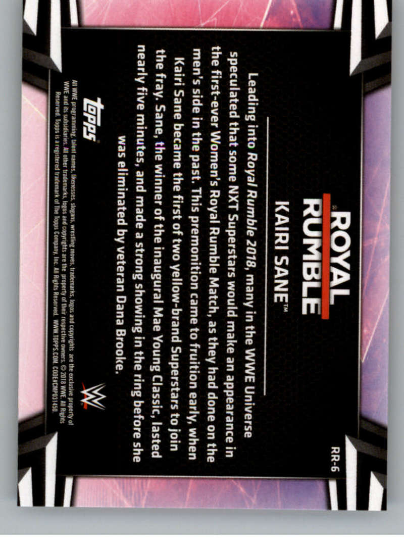 2018-Topps-WWE-Women-039-s-Division-Evolution-Royal-Rumble-Pick-A-Card thumbnail 13