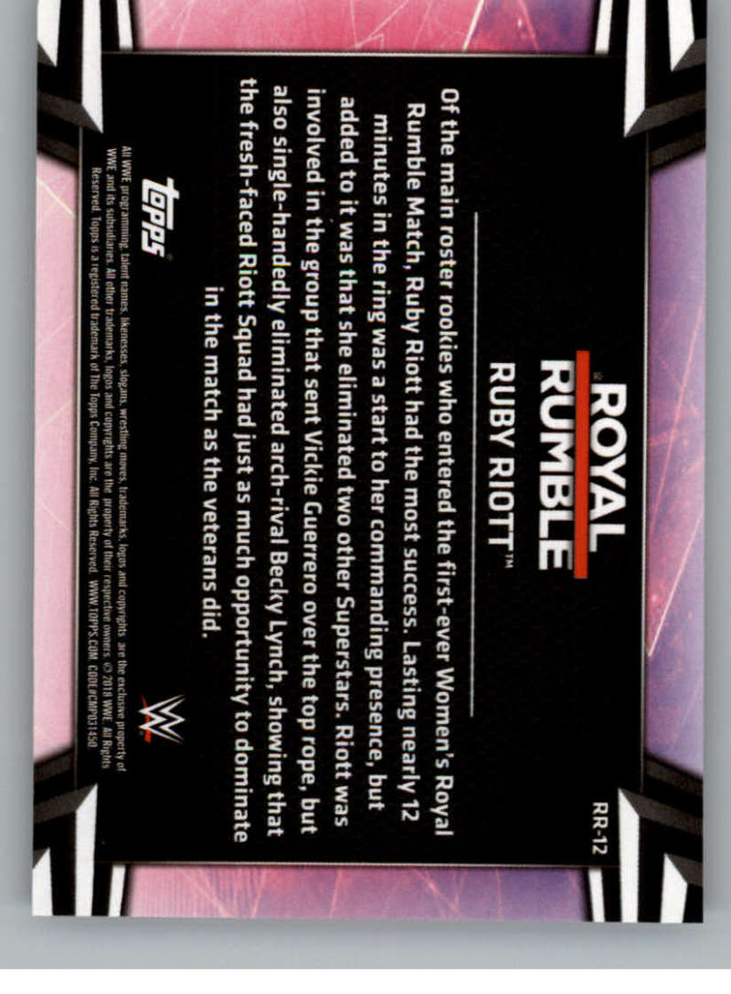 2018-Topps-WWE-Women-039-s-Division-Evolution-Royal-Rumble-Pick-A-Card thumbnail 25