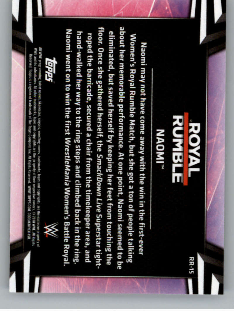 2018-Topps-WWE-Women-039-s-Division-Evolution-Royal-Rumble-Pick-A-Card thumbnail 31