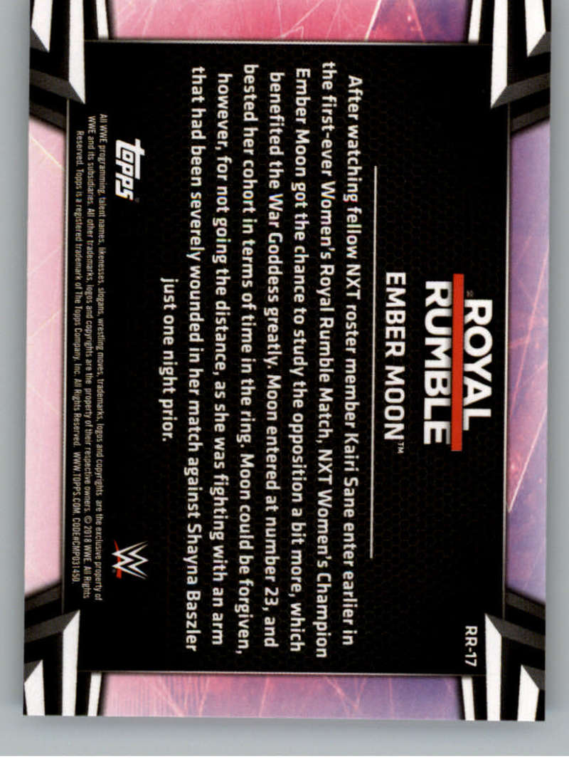 2018-Topps-WWE-Women-039-s-Division-Evolution-Royal-Rumble-Pick-A-Card thumbnail 35