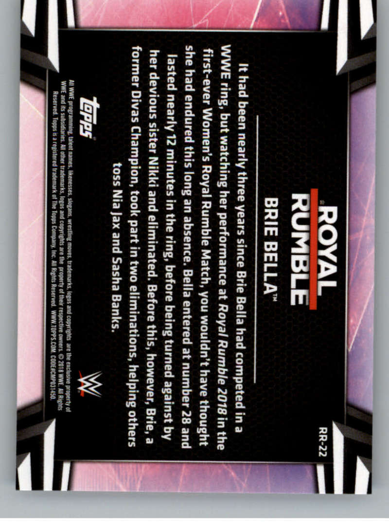 2018-Topps-WWE-Women-039-s-Division-Evolution-Royal-Rumble-Pick-A-Card thumbnail 45
