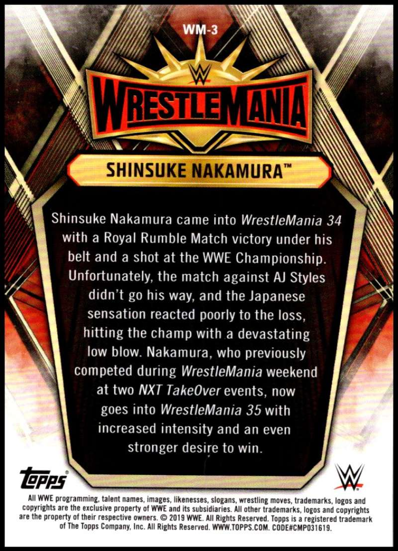 2019-Topps-Road-to-WrestleMania-Roster-Cards-WWE-You-Pick-Complete-Your-Set thumbnail 7