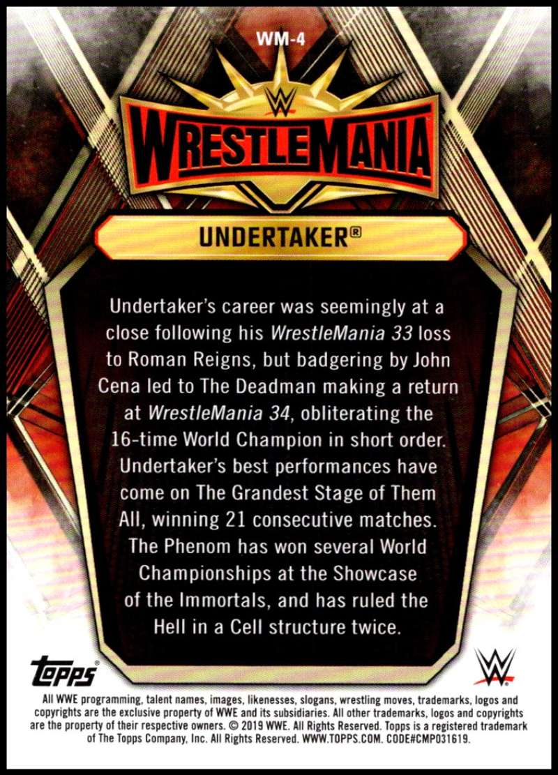 2019-Topps-Road-to-WrestleMania-Roster-Cards-WWE-You-Pick-Complete-Your-Set thumbnail 9