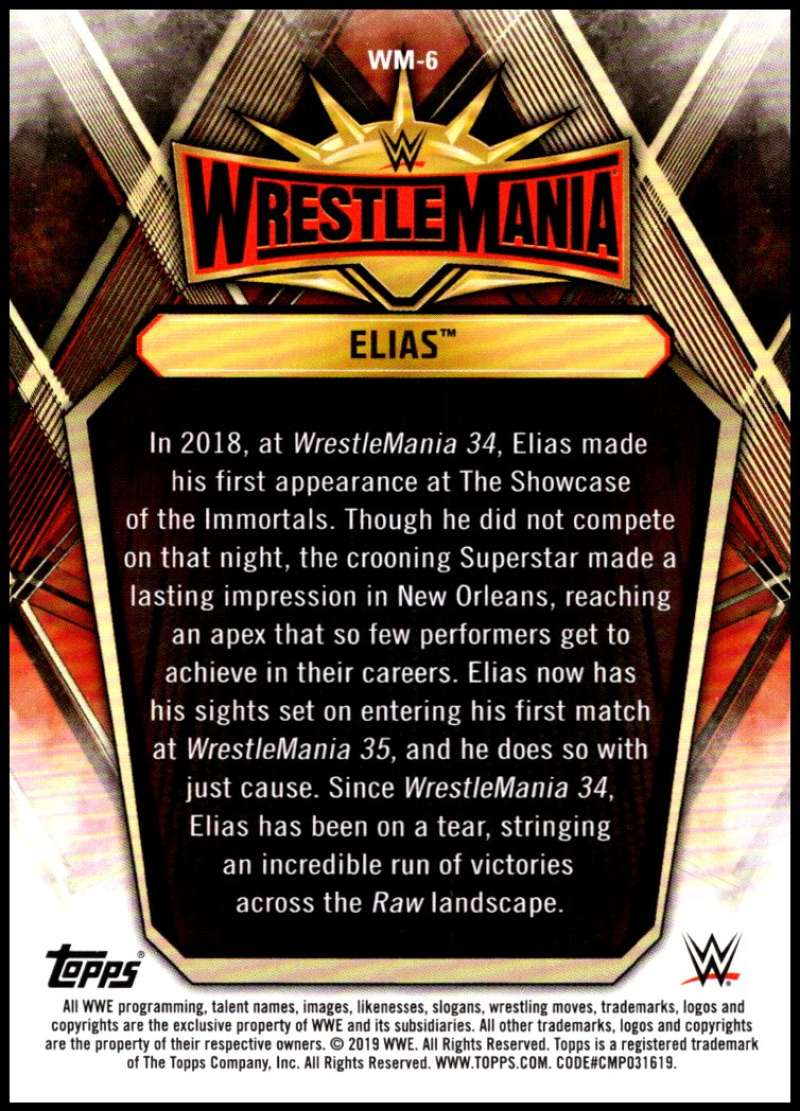 2019-Topps-Road-to-WrestleMania-Roster-Cards-WWE-You-Pick-Complete-Your-Set thumbnail 13