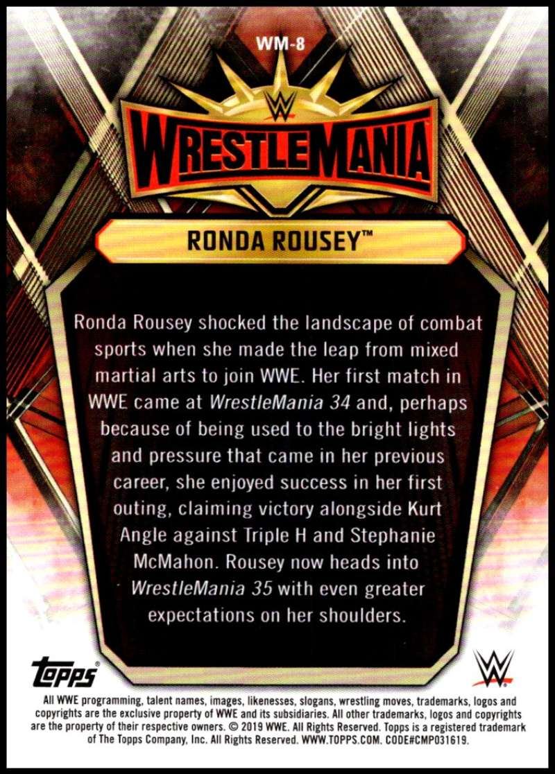 2019-Topps-Road-to-WrestleMania-Roster-Cards-WWE-You-Pick-Complete-Your-Set thumbnail 17