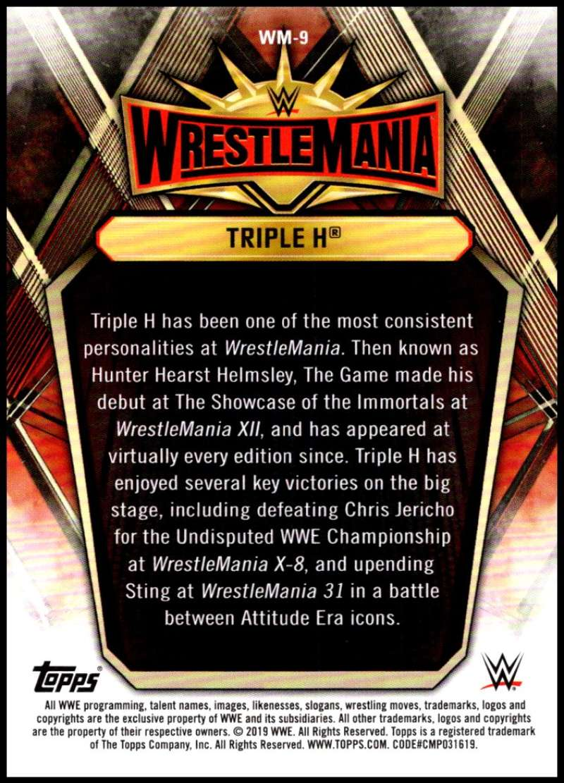 2019-Topps-Road-to-WrestleMania-Roster-Cards-WWE-You-Pick-Complete-Your-Set thumbnail 19
