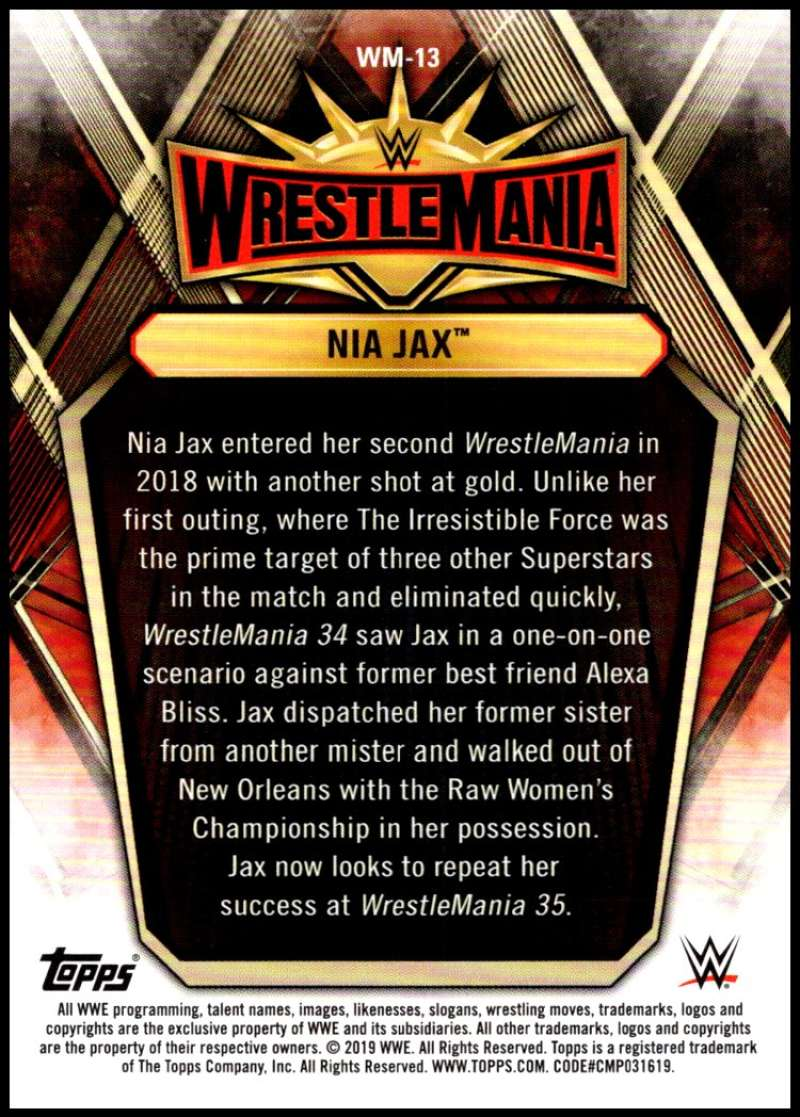 2019-Topps-Road-to-WrestleMania-Roster-Cards-WWE-You-Pick-Complete-Your-Set thumbnail 25