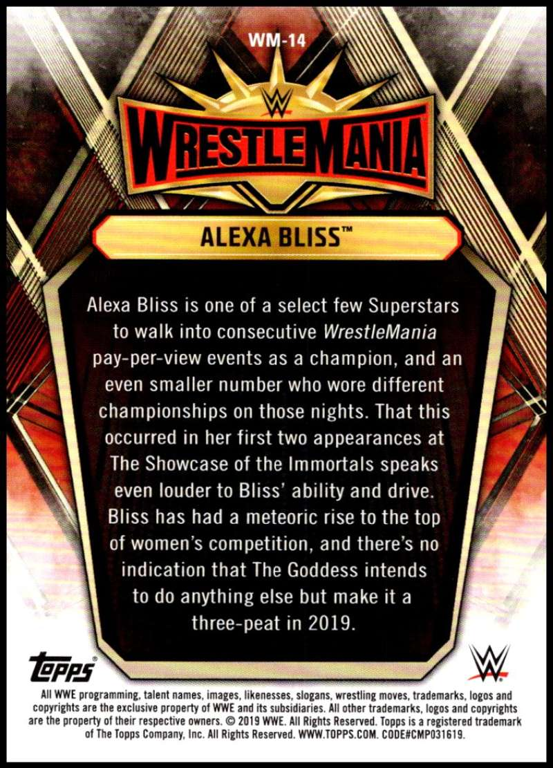 2019-Topps-Road-to-WrestleMania-Roster-Cards-WWE-You-Pick-Complete-Your-Set thumbnail 27