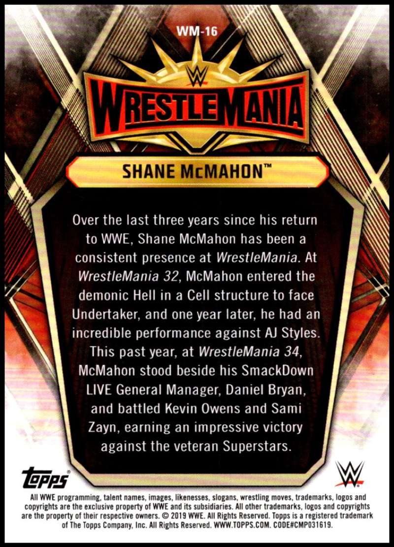 2019-Topps-Road-to-WrestleMania-Roster-Cards-WWE-You-Pick-Complete-Your-Set thumbnail 31