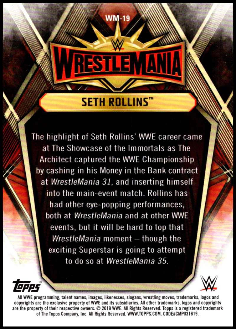 2019-Topps-Road-to-WrestleMania-Roster-Cards-WWE-You-Pick-Complete-Your-Set thumbnail 37