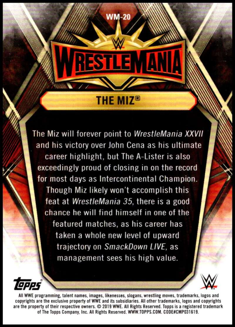 2019-Topps-Road-to-WrestleMania-Roster-Cards-WWE-You-Pick-Complete-Your-Set thumbnail 39
