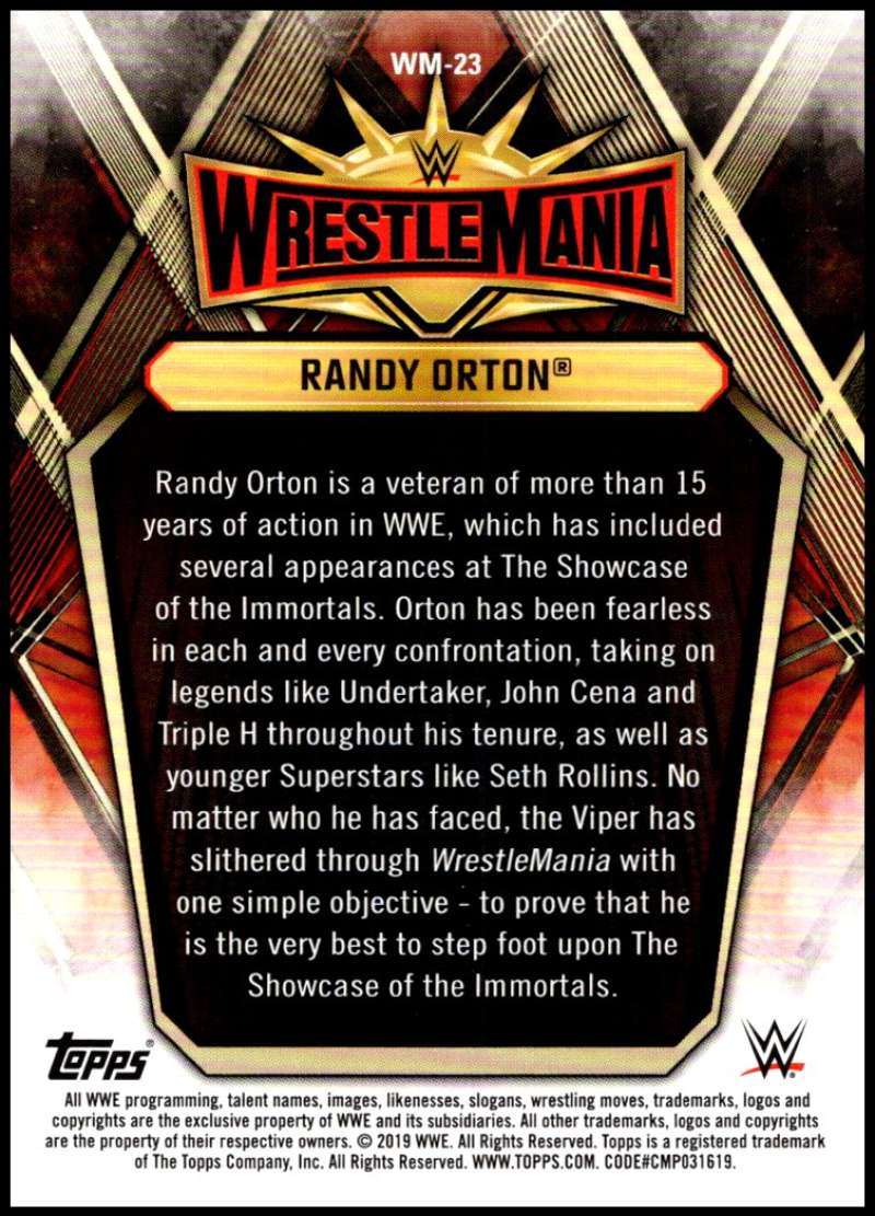 2019-Topps-Road-to-WrestleMania-Roster-Cards-WWE-You-Pick-Complete-Your-Set thumbnail 45