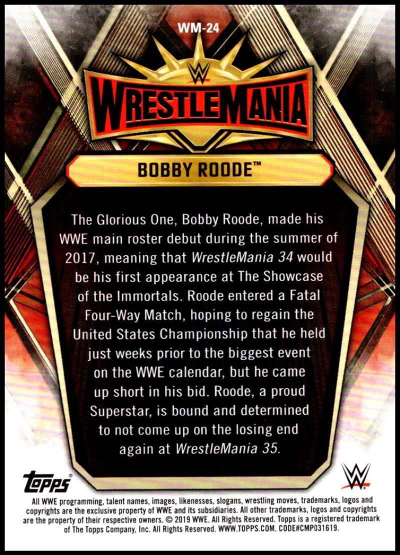 2019-Topps-Road-to-WrestleMania-Roster-Cards-WWE-You-Pick-Complete-Your-Set thumbnail 47