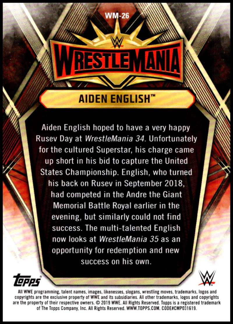 2019-Topps-Road-to-WrestleMania-Roster-Cards-WWE-You-Pick-Complete-Your-Set thumbnail 51