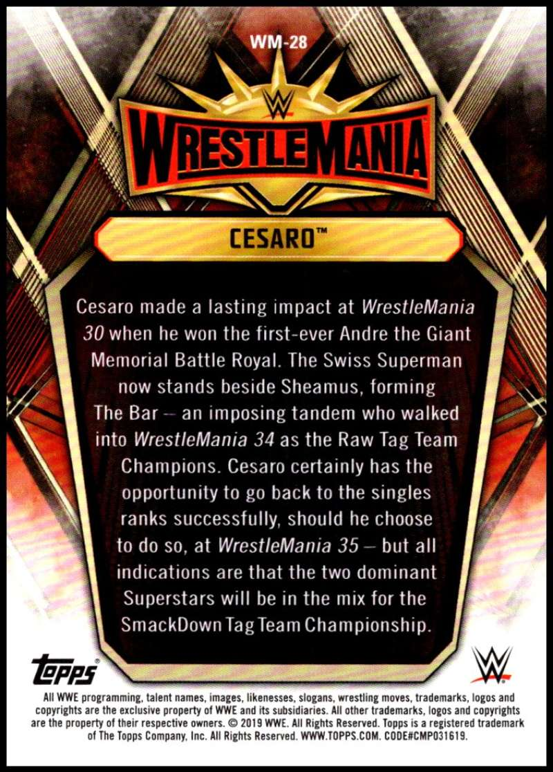 2019-Topps-Road-to-WrestleMania-Roster-Cards-WWE-You-Pick-Complete-Your-Set thumbnail 55