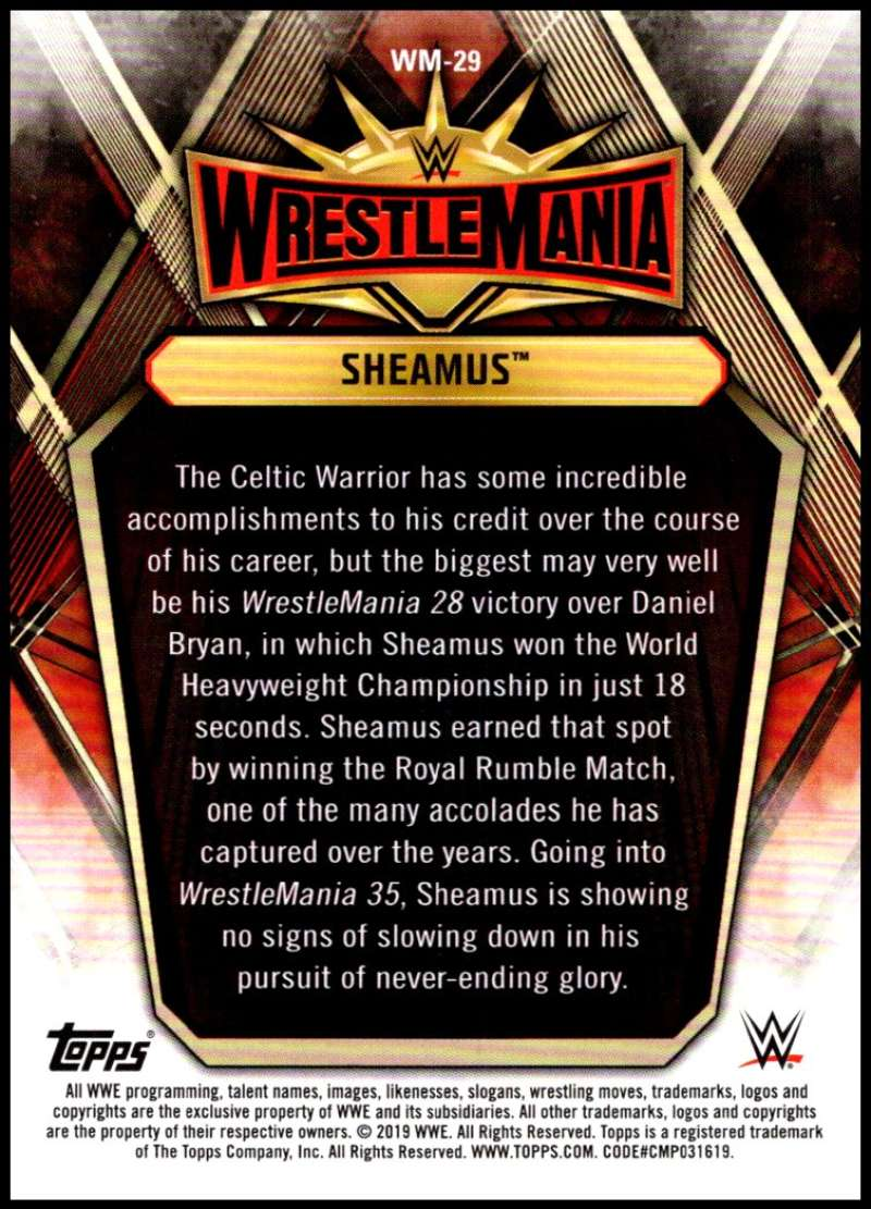 2019-Topps-Road-to-WrestleMania-Roster-Cards-WWE-You-Pick-Complete-Your-Set thumbnail 57