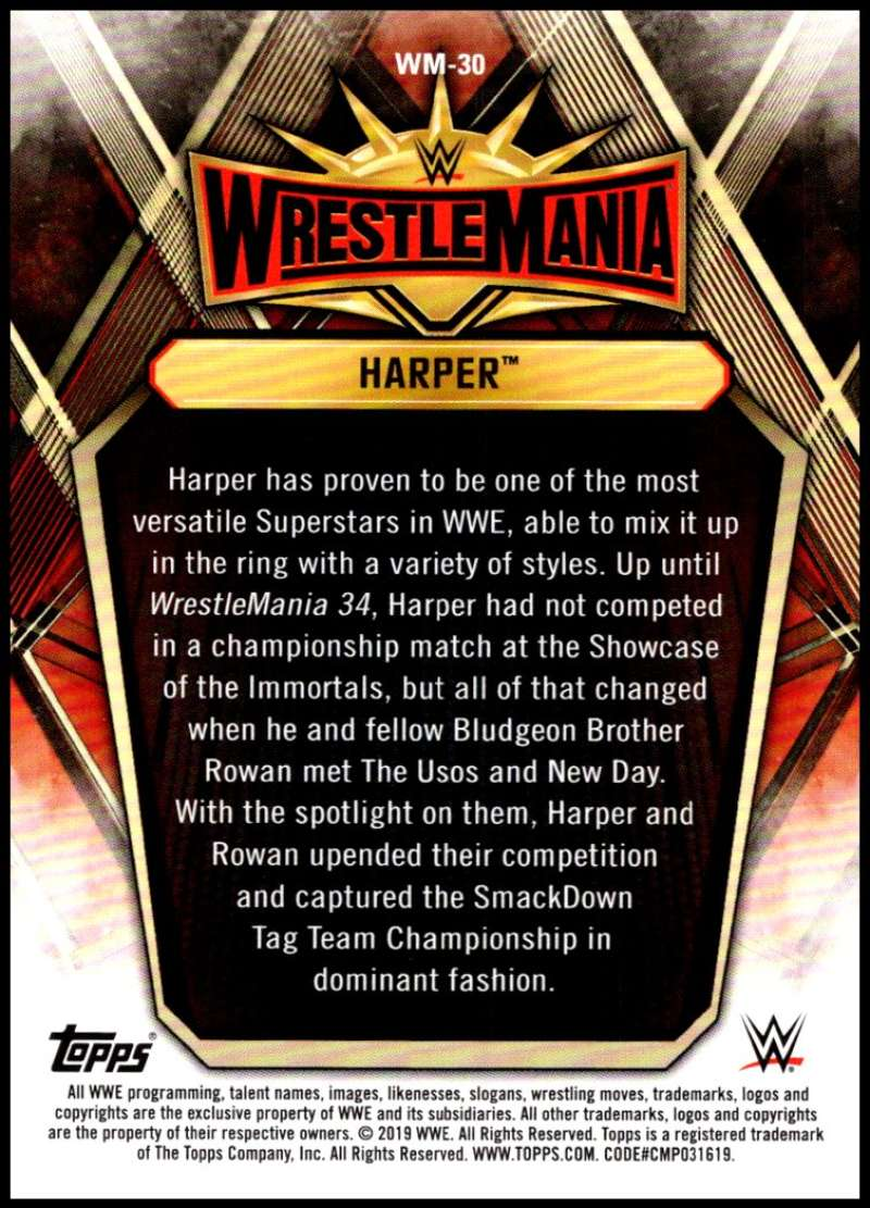 2019-Topps-Road-to-WrestleMania-Roster-Cards-WWE-You-Pick-Complete-Your-Set thumbnail 59